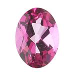 2.25 Cts of 9x7 mm AA Oval Loose Mystic Pink Topaz ( 1 pcs ) Gemstone