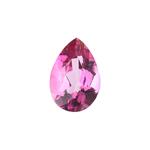 2.1 Cts of 10x7 mm AA Pear Loose Mystic Pink Topaz ( 1 pcs ) Gemstone