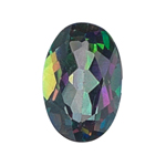 1.50-1.81 Cts of AA SI-Slightly included 8x6 mm Oval Loose Mystic Green Topaz ( 1 pc ) Gemstone
