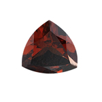 7.00-8.25 Cts of 13 mm AAA Trillion Cut Mozambique Garnet ( 1 pc ) Loose Gemstone