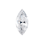 1.09 Cts 9x5 mm AAA Marquise White Sapphire Loose Gemstone
