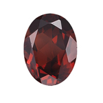 16x12 mm AA Oval Mozambique Garnet ( 1 pc ) Loose Gemstone