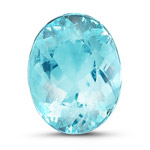 9.55x7.38x4.95 mm - 2.17 Cts GIA Certified Loose Oval Modified Brilliant Cut Mozambique Paraiba Tourmaline -AA quality