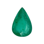 1.61 Cts of 10.30x7.00x4.00 mm AA Pear Natural Emerald ( 1 pc ) Loose Gemstone