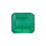 3.00 Cts of 9.40x8.40x5.20 mm AA Emerald-Cut Natural Emerald ( 1 pc ) Loose Gemstone
