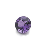0.50-0.63 Cts of AAA 5 mm Round Loose Amethyst ( 1 pc ) Gemstone