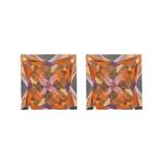 2.40-2.60 Cts of AAA 6 mm Princess Pair Matching Loose Mystic Azotic Ecstasy Topaz ( 2 pcs set ) Gemstones