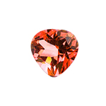 1.91-2.45 Cts of 8 mm AAA Heart Mystic Azotic Ecstasy Topaz ( 1 pc ) Loose Gemstone