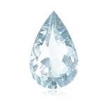 10.00-10.50 Cts of 16x12 mm AA Pear Loose Natural Sky Blue Topaz ( 1 pc ) Gemstone