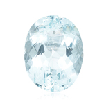 9.00-9.50 Cts of 14x12 mm AA Oval Loose Natural Sky Blue Topaz ( 1 pc ) Gemstone