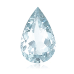 13.50-14.00 Cts of 18x13 mm AA Pear Loose Natural Sky Blue Topaz ( 1 pc ) Gemstone