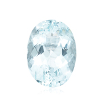 5.00-6.00 Cts of 12x10 mm AA Oval Loose Natural Sky Blue Topaz ( 1 pc ) Gemstone