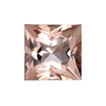 1.40-1.74 Cts of 7 mm AAA Princess Morganite ( 1 pc ) Loose Gemstone