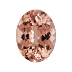4.91-5.78 Cts of 14x10 mm AAA Oval Mozambique Morganite ( 1 pc ) Loose Gemstone