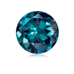 0.53-0.87 Cts of 5x5 mm AAA Round Russian Lab Created Alexandrite ( 1 pc ) Loose Gemstone