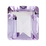 3.00 Cts of AA 10x8 mm  Emerald Cut Rose De France ( 1 pc ) Loose Gemstone