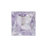 1.50 Cts of AA 7x7 mm  Square Rose De France ( 1 pc ) Loose Gemstone