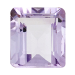 6.75 Cts of AA 14x10 mm  Emerald Cut Rose De France ( 1 pc ) Loose Gemstone