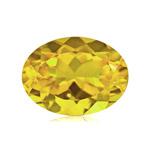 0.60-0.70 Cts of 7X5 mm AA Oval Yellow Beryl (1 pc) Loose Gemstone