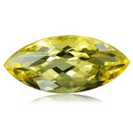 0.85-0.95 Cts of 10X5 mm AA Marquise Loose Yellow Beryl ( 1 pc ) Gemstone