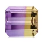14.00-14.50 Cts of 14x15 mm AA Emerald Cut Bolivian Ametrine ( 1 pc ) Loose Gemstone