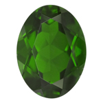 2.20 Cts of 10x8 mm AA Oval Chrome Diopside ( 1 pc ) Loose Gemstone