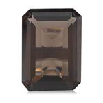 0.96-1.15 Cts of 7x5 mm AAA Emerald Cut Smokey Quartz ( 1 pc ) Loose Gemstone