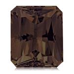 2.90-3.60 Cts of 10x8 mm  Emerald Radiant Cut Smokey Quartz ( 1 pc ) Loose Gemstone