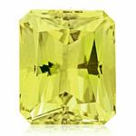 1.90 Cts of 9x7 mm AA Emerald Radiant Lemon Citrine ( 1 pc ) Loose Gemstone