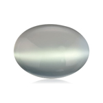 5.45 Cts of 12x10 mm AA Oval Cabochon Genuine Moonstone ( 1 pc ) Loose Gemstone