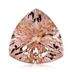 14.00-14.70 Cts of 17x17x17 mm AA Trillion Nigerian Morganite ( 1 pc ) Loose Gemstone