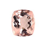 21.00-21.80 Cts of 19x17 mm AA Cushion Nigerian Morganite ( 1 pc ) Loose Gemstone