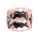 15.00-15.35 Cts of 16x14.9 mm AA Cushion Nigerian Morganite ( 1 pc ) Loose Gemstone