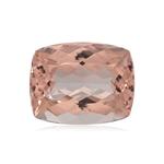 11.00-11.90 Cts of 16x12.5 mm AA Cushion Nigerian Morganite ( 1 pc ) Loose Gemstone