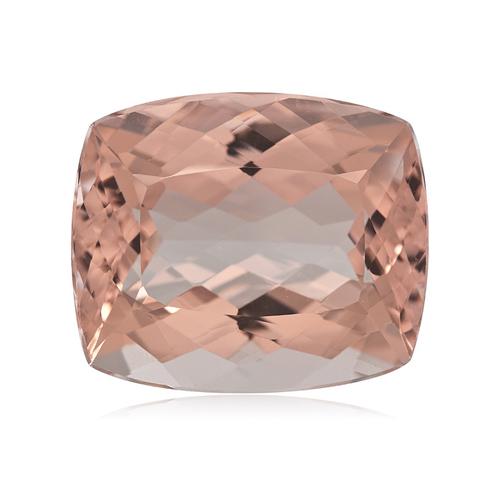 18.00-18.45 Cts of 18x15 mm AA Cushion Nigerian Morganite ( 1 pc ) Loose Gemstone