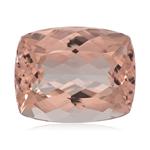 30.00-31.90 Cts of 21.5x17 mm AA Cushion Nigerian Morganite ( 1 pc ) Loose Gemstone