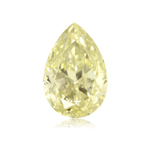 GIA Certified Natural Fancy Brownish Yellow (1pc) Loose Diamond - 0.99 Cts - VS1 Clarity Pear Modified Brilliant