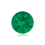 0.40-0.79 Cts of 5.50x5.50 mm AA Round Natural Emerald ( 1 pc ) Loose Gemstone