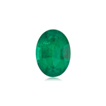 0.31-0.51 Cts of 6x4 mm AA Oval Natural Emerald ( 1 pc ) Loose Gemstone