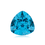 0.53-1.20 Cts of 6 mm AAA Trillion Swiss Blue Topaz ( 1 pc ) Loose Gemstone