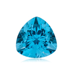 0.91-1.73 Cts of 7 mm AAA Trillion Swiss Blue Topaz ( 1 pc ) Loose Gemstone