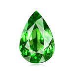 2.74 Cts of 12.2x7.4 mm AAA Elongated Pear Tanzanian Tsavorite Garnet ( 1 pc ) Loose Gemstone