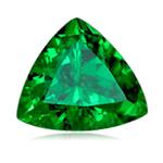 1.03 Cts of 6.5x6.5x6.5 mm AA+ Trillion Tanzanian Tsavorite Garnet ( 1 pc ) Loose Gemstone