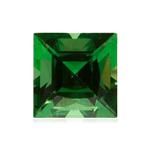 0.50 Cts of 4.2x4.1 mm AAA Square Tanzanian Tsavorite Garnet ( 1 pc ) Loose Gemstone