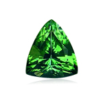 0.67 Cts of 6.4x5.6 mm AA - VVSI ( Eye Clean ) Triangular Pear Tanzanian Tsavorite Garnet ( 1 pc ) Loose Gemstone