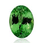 1.54 Cts of 8.40x6.15x4.00 mm A Oval Tanzanian Tsavorite Garnet ( 1 pc ) Loose Gemstone