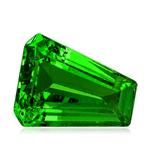 1.13 Cts of 6.65x5.50x3.60 mm A Fancy Cut Tanzanian Tsavorite Garnet ( 1 pc ) Loose Gemstone