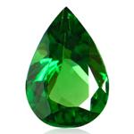 1.81 Cts of 10.15x6.35x4.30 mm A Pear Tanzanian Tsavorite Garnet ( 1 pc ) Loose Gemstone