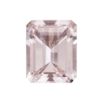 2.33-3.60 Cts of 10x8 mm AAA Emerald-Cut Mozambique Morganite ( 1 pc ) Loose Gemstone