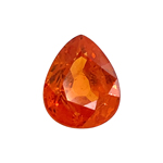 2.95-3.50 Cts of 9.5x7.6x4.8 mm AAA Pear Loose Spessartite ( 1 pc ) Loose Gemstone